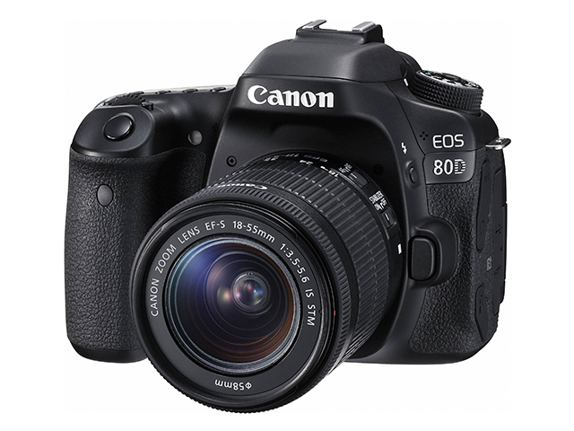 Canon EOS 80D EF-S 18-55 IS STM