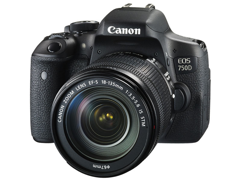 Canon EOS 750D EF 18-135 IS