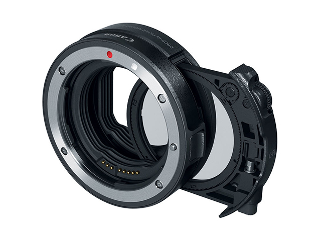 Canon Адаптер EOS R Drop-In Filter Mount Adapter EF-EOS R with C-PL FILTER