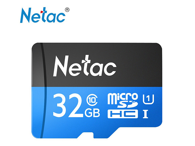 Карта памет Netac 32G Micro SDXC до 80MB/s 533x Class10,Ultra High Speed UHS-I