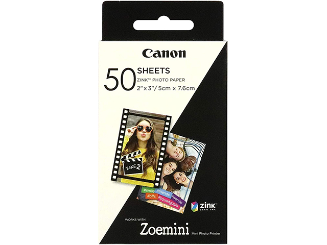 Хартия Canon ZINK Paper 50 sheets for Zoemini