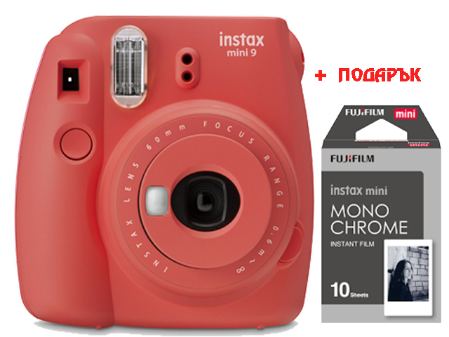 FujiFilm Instax mini9 Poppy Red