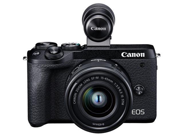 Canon EOS M6 Mark II с обектив 15-45mm