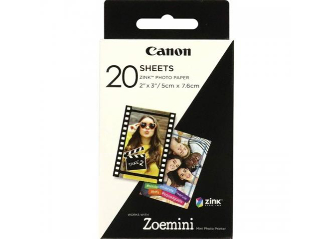 Хартия Canon ZINK Paper 20 sheets for Zoemini