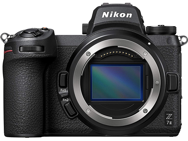 Nikon Z 7II body, 45.7MP, Full-frame FX-format BSI CMOS, UHD 4K 60p video ,CFexpress Type B, SD UHS-II