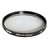 Hama  Filter, cross screen, 6x, 55.0 mm 87255
