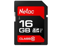 Карта памет Netac SD Card 16GB SDHC/SDXC до 80MB/s 533x  Class10,Ultra High Speed UHS-I