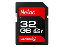 Карта памет Netac SD Card 32GB SDHC/SDXC до 80MB/s 533x  Class10,Ultra High Speed UHS-I