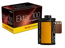 Цветен фотографски филм Kodak Professional Ektar 100 Color Negative Film