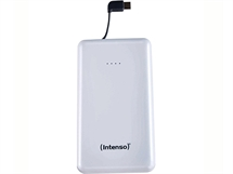 Външна батерия Intenso Powerbank Slim S10000-C 10000 mAh бяла