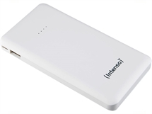 Външна батерия Intenso Powerbank Slim S10000 mAh бяла