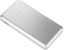 Външна батерия Intenso Powerbank Slim S10000 mAh сребро