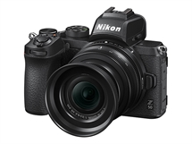 Nikon Z 50 с обектив Z DX 16-50mm f/3.5-6.3 VR,20.9MP CMOS,4K video,Bluetooth, Wi-Fi
