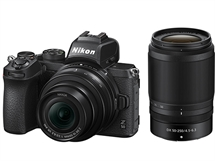 Nikon Z 50 с обективи Z 16-50mm f/3.5-6.3 VR и Z 50-250/4.5-6.3VR,20.9MP CMOS,4K video,Bluetooth, Wi-Fi